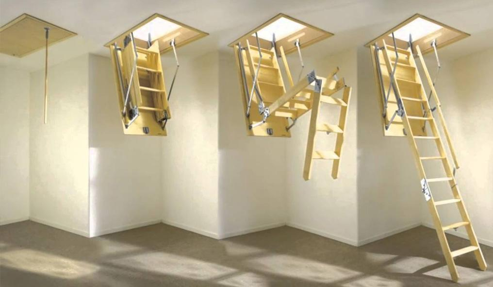 Что такое чердачные лестницы?