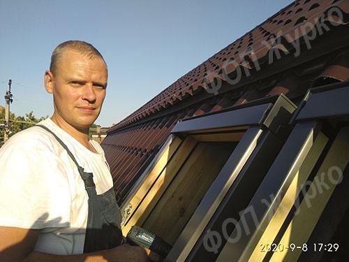 мансардные окна купить цена установка Одесса